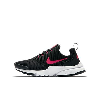 Nike Presto Fly (GS) (Black / Pink) productafbeelding