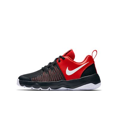 Nike Team Hustle D 8 (GS) (Black / Red) productafbeelding