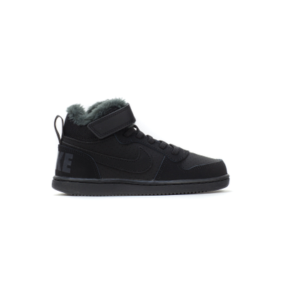 Nike Court Borough Mid WTR (PSV) (Black) productafbeelding