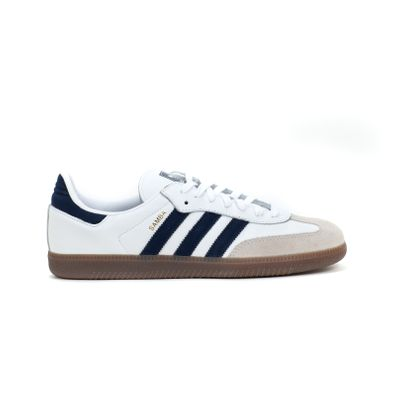 adidas Originals Samba OG (White / Blue) productafbeelding