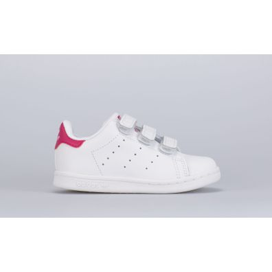 adidas Originals Stan Smith CF I (White / Pink) productafbeelding