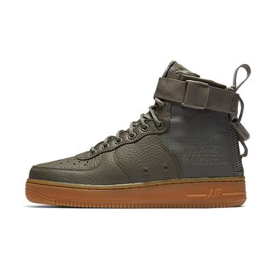 """Nike Wmns Sf Air Force 1 Mid """"Dark Stucco"""" productafbeelding"""
