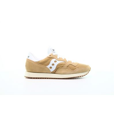 "Saucony DXN Trainer Vintage ""Tan White"" productafbeelding"