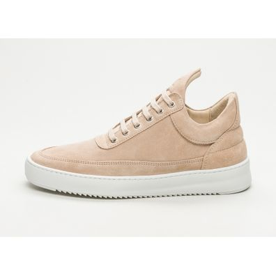 Filling Pieces Low Top Ripple Lane Suede (Off White) productafbeelding