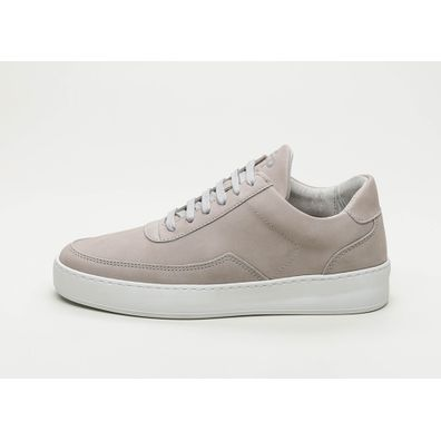 Filling Pieces Low Mondo Plain Nardo Nubuck (Light Grey) productafbeelding