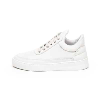 Filling Pieces Low Top Plain Lane Nubuck (White) productafbeelding