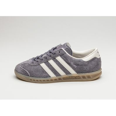adidas Hamburg W (Trace Grey / Off White / Gum) productafbeelding