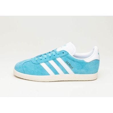 adidas Gazelle (Bright Cyan / Ftwr White / Cream White) productafbeelding