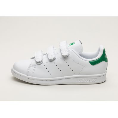 adidas Stan Smith CF W (Ftwr White / Ftwr White / Green) productafbeelding