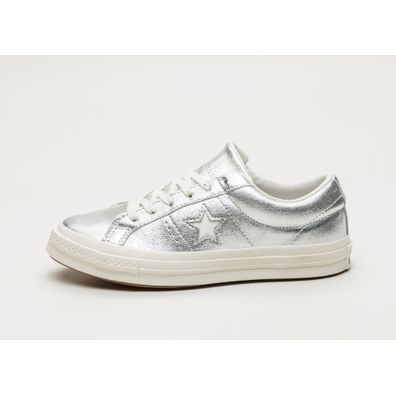Converse One Star Ox (Silver / Egret / Egret) productafbeelding