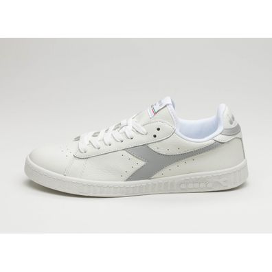 Diadora Game L Low Waxed (White / Gray Violet / White) productafbeelding