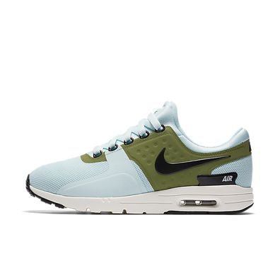 Nike Wmns Air Max Zero (Glacier Blue / Black - Ivory - Palm Green) productafbeelding