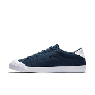 Nike All Court 2 Low Cnvs (Armory Navy / Armory Navy - White) productafbeelding