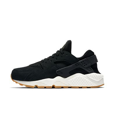 Nike Wmns Air Huarache Run SD (Black / Deep Green - Sail - Gum Light B productafbeelding