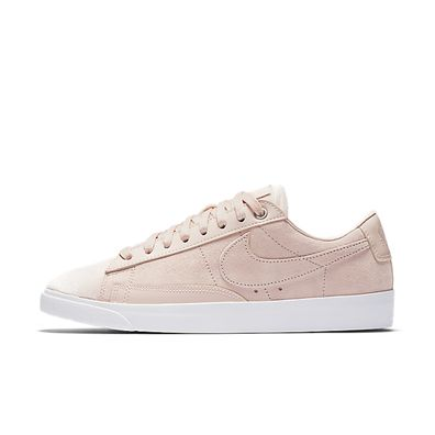 Nike Wmns Blazer Low LX (Silt Red / Light Orewood Brown - White) productafbeelding