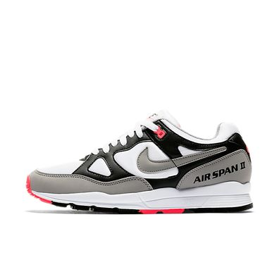 Nike Wmns Air Span II (Black / Dust - Solar Red - White) productafbeelding