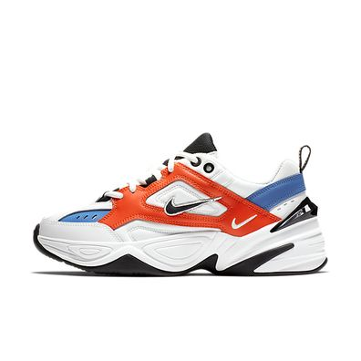 Nike Wmns M2K Tekno (Summit White / Black - Team Orange) productafbeelding