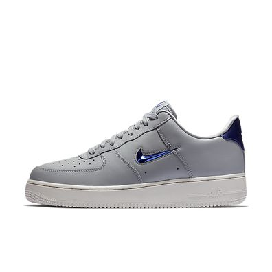 Nike Air Force 1 '07 LV8 Leather (Wolf Grey / Deep Royal Blue - Summi productafbeelding