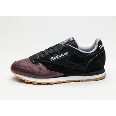 Reebok Classic Leather LS (Black / Burnt Sienna / Ash Grey / Gum) productafbeelding