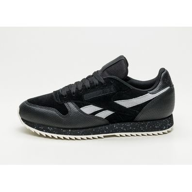 Reebok Classic Leather Ripple SM (Black / Cool Shadow / Chalk) productafbeelding