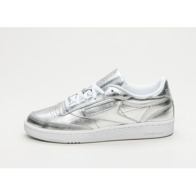 Reebok Club C 85 S SHINE (Silver / White) productafbeelding