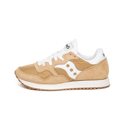 Saucony DXN Trainer Vintage (Tan / White) productafbeelding