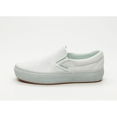 Vans Classic Slip-On *Suede Outsole* (Blue Flower / True White) productafbeelding
