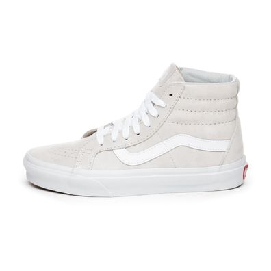 Vans Sk8-Hi Reissue *Pig Suede* (Moonbeam / True White) productafbeelding