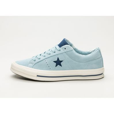 Converse One Star Ox (Ocean Bliss / Navy / Egret) productafbeelding