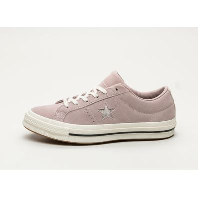 Converse One Star Ox (Diffused Taupe / Silver / Egret) productafbeelding