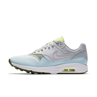 Nike Wmns Air Max 1 Ultra 2.0 SI (White / Pure Platinum - Volt - Palm productafbeelding
