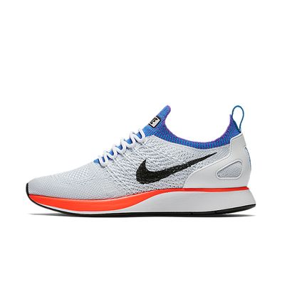 Nike Wmns Air Zoom Mariah Flyknit Racer (White / Hyper Crimson - Pure productafbeelding