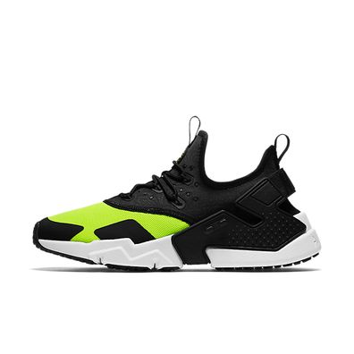 Nike Air Huarache Drift (Volt / Black - White) productafbeelding
