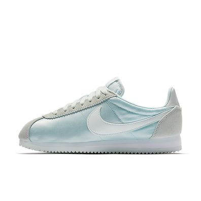 Nike Wmns Classic Cortez Nylon (Barely Grey / Barely Grey - White) productafbeelding