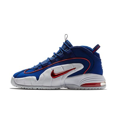 Nike Air Max Penny (Deep Royal Blue / Gym Red - White) productafbeelding
