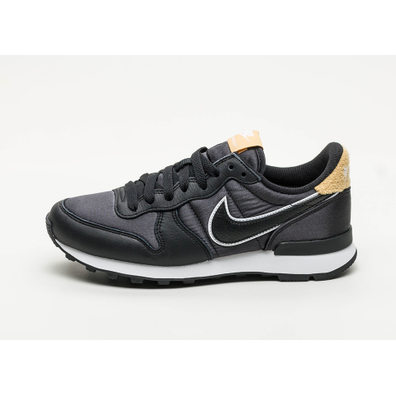 nike internationalist dames zwart goud