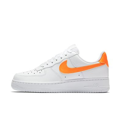 Nike Wmns Air Force 1 Low (White / Total Orange - White) productafbeelding