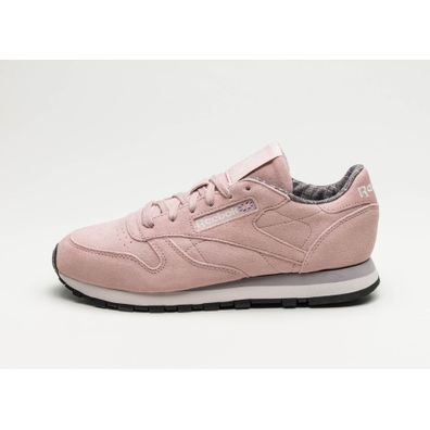 Reebok Classic Leather W&W (Shell Pink / Whisper Grey / Lilac / Black productafbeelding