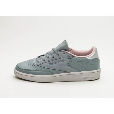 Reebok Club C 85 *Golden Neutrals* (Grey / Silver / Pink / Grey) productafbeelding