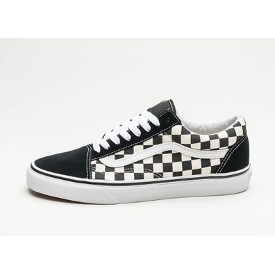 Vans Old Skool *Primary Check* (Black / White) productafbeelding