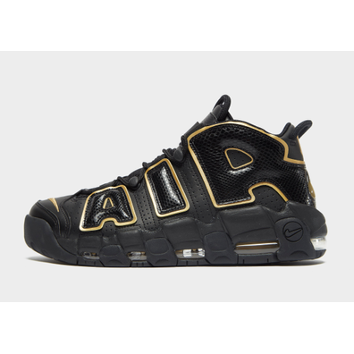 Nike Air More Uptempo 96 France QS Black / Metallic Gold productafbeelding