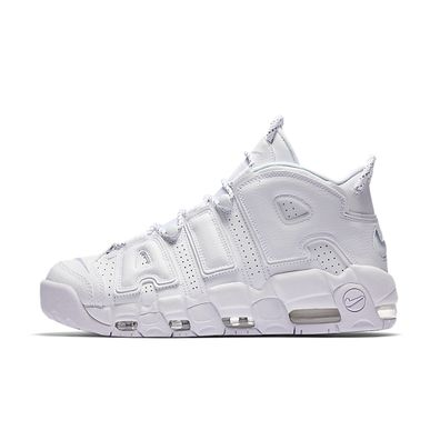 Nike Air More Uptempo 'Triple White' productafbeelding