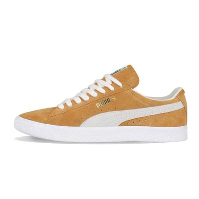 Puma Suede 90681 Honey Mustard / Puma White productafbeelding