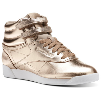Reebok Freestyle Hi Metallic productafbeelding