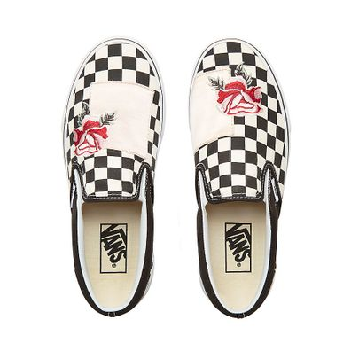 VANS Satin Patchwork Classic Slip-on  productafbeelding