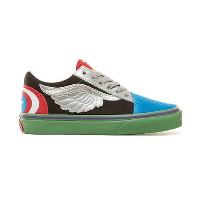 VANS Vans X Marvel Old Skool-kinder productafbeelding