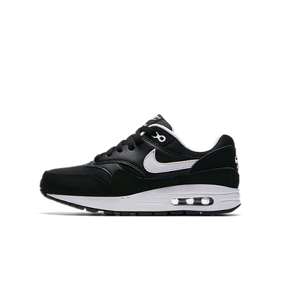 Nike Air Max 1 GS Black White Kids productafbeelding