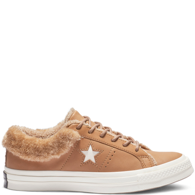 Converse One Star Street Warmer Leather Low Top productafbeelding