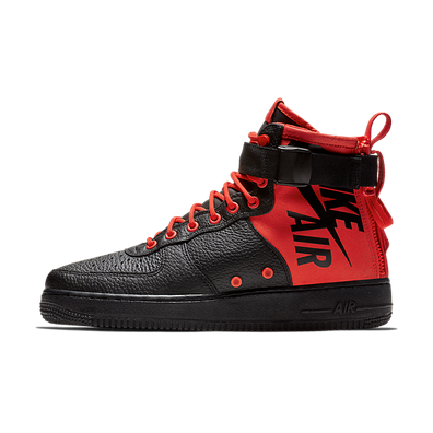 Nike Special Field Air Force 1 Mid - Black Habanero Red productafbeelding