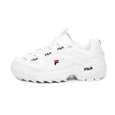 FILA D-Formation (White / Fila Navy / Fila Red) productafbeelding